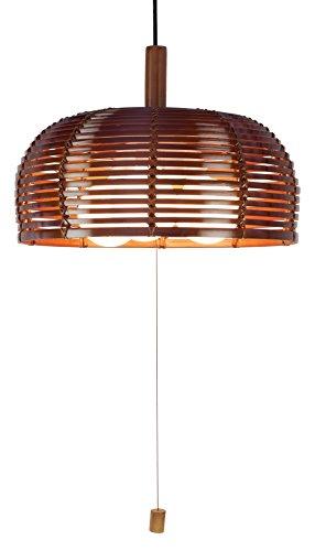 Kishima キシマ イオリ 竹 ペンダントライト Brown 3灯 GEM-6908 LED電球対応 GEM-6908