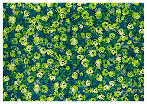 クリーンテックス wash+dry(ウォッシュ アンド ドライ) 玄関マット Punilla green 140×200cm K015K