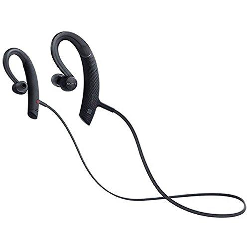 ソニー SONY ワイヤレスイヤホン 防水/スポーツ向け Bluetooth/LDAC/NFC対応 リモコン・マイク付き/ハンズフリー通話可能 ブラック MDR-XB80BS B