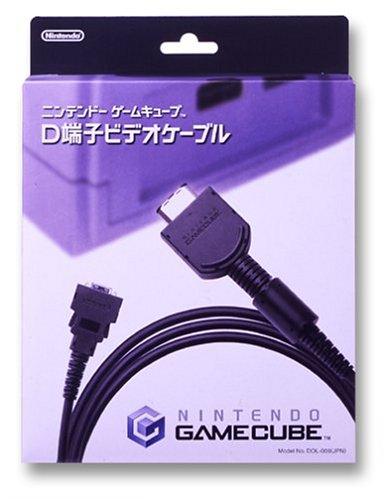 ニンテンドーゲームキューブ専用D端子ビデオケーブル