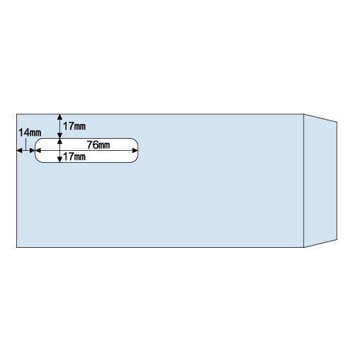 ヒサゴ 窓つき封筒(給与明細書用) 1000枚入 MF31T