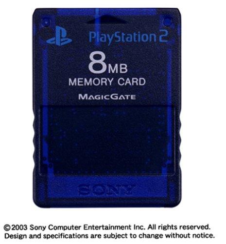 PlayStation 2専用メモリーカード (8MB) ミッドナイト・ブルー