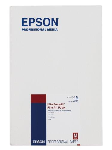 エプソン 写真用紙 UltraSmooth Fine Art Paper A3ノビ/25枚 KA3N25USFA