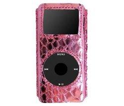 i-doll PYTHON leatherskin iPod nano用 ピンクメタリック 13119