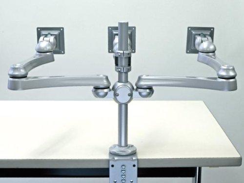 モダンソリッド LA-516-5 液晶モニタ3画面用水平多関節アーム(VESA75.100) LA-516-5