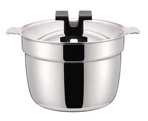 ライスポット 炊飯鍋 S-タイプ 【全面ステンレス・アルミ芯3層鋼】 2合 RP-2S:ユニオン