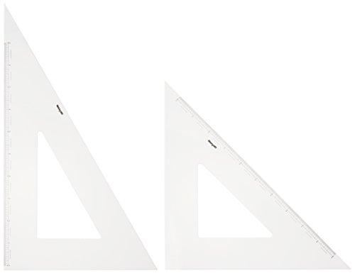 ドラパス 三角定規 目盛付 3mm厚 60cm 13137