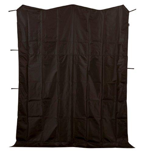 キャプテンスタッグ グランド タープ サイドパネル ブラック1.8m M-5916