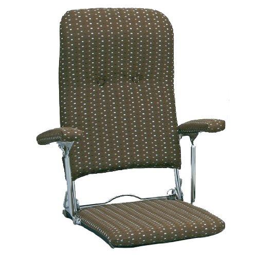 ミヤタケ(宮武製作所) オリタタミ座椅子 ブラウン YS-1046