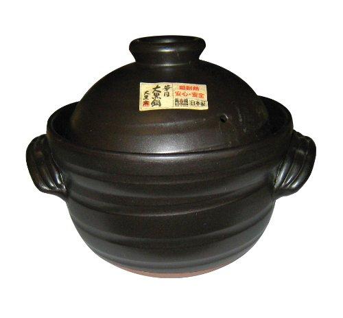 ごはん鍋 大黒セリオン(中蓋付)6合炊