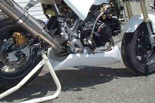 ノジマエンジニアリンング(NOJIMA ENGINEERING) Z1000レプリカ アンダーカウル ストリート&レース共通 FRP 黒ゲル KSR110(03-08) NCW621UC-BK