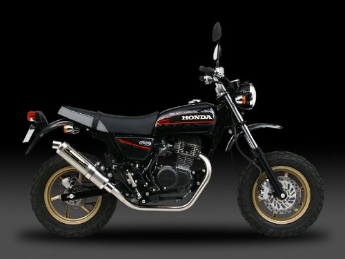 ヨシムラ(YOSHIMURA) バイクマフラー フルエキゾースト 機械曲 チタン サイクロン TC カーボンカバー APE100(-06/Type-D 08-09) 110-406-8291 バイク オートバイ
