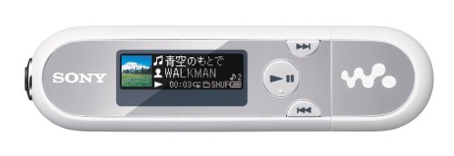 SONY ウォークマン Eシリーズ FM付 4GB シルバー/ホワイト NW-E043/SW