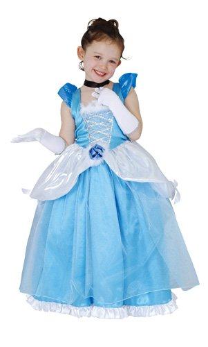 ディズニー シンデレラ デラックス キッズコスチューム 女の子 120cm-140cm 802055M