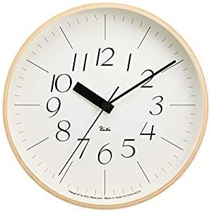 Lemnos RIKI CLOCK RC 電波時計 WR07-10[un]
