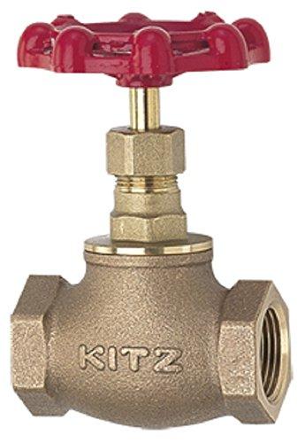 キッツ 青銅製JIS規格5Kグローブバルブ KITZ-K 1B [25A][un]
