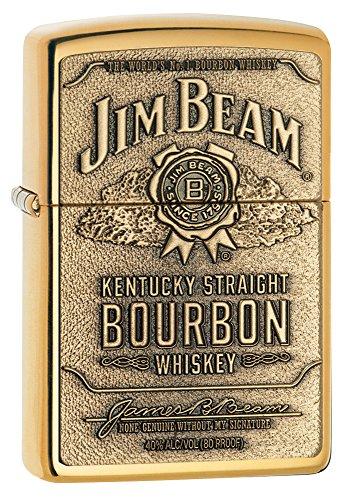 Zippo Jim Beam Brass Emblem ジムビーンジッポ 254BJB929