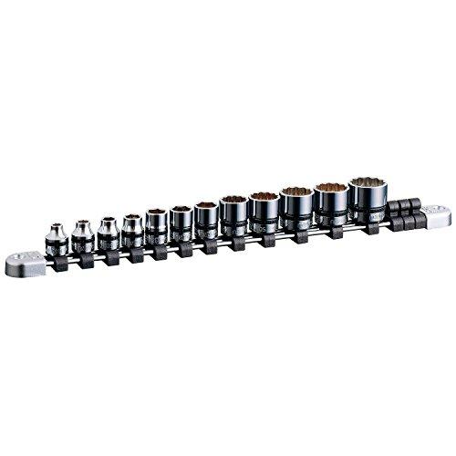 KTC(ケーテーシー) ネプロス 9.5mm (3/8インチ) ソケット セット 12個組 NTB312XA