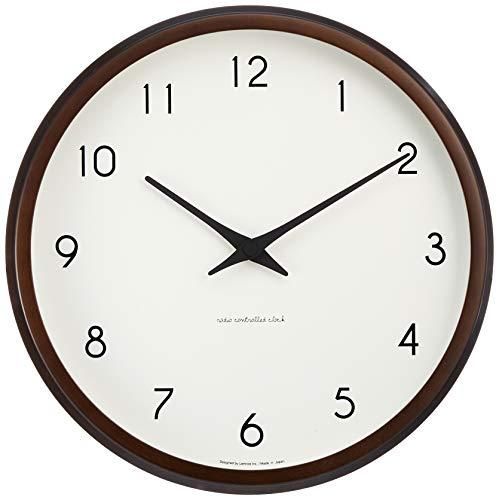 Lemnos (レムノス) 掛け時計 ナチュラル サイズ:φ29.4×d5.4cm PC10-24 BW[un]