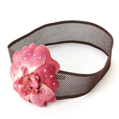 アリビアン ソフトバンド (one-corsage) ホットピンク/ブラウン al0008-04