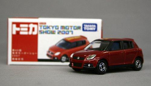 TOMY トミカ第40回 東京モーターショー 2007 開催記念トミカ12.スズキ スイフトスポーツ