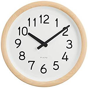 Lemnos Day To Day Clock ナチュラル PIL12-10 NT[un]