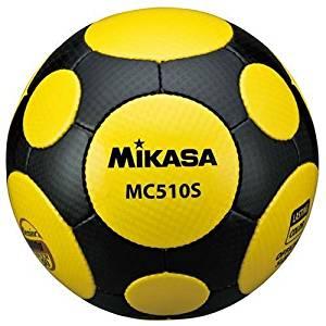 ミカサ サッカーボール 軽量球5号 シニア用 MC510S-YBK 黄/黒 MC510S-YBK[un]