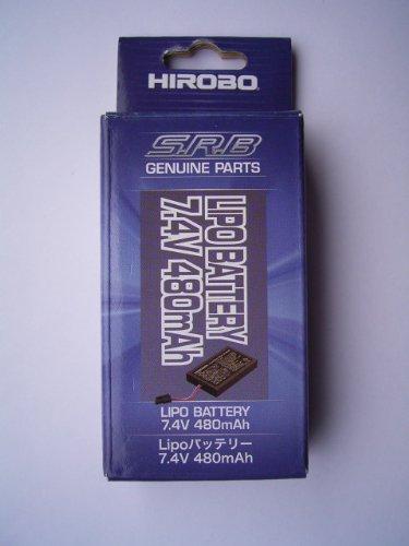 Lipoバッテリー7.4V 480mAh M0302025