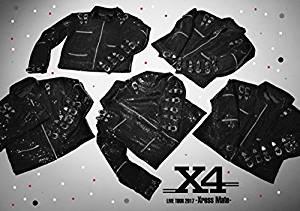 X4 LIVE TOUR 2017 -Xross Mate- [Blu-ray][un]