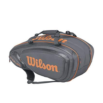Wilson(ウイルソン) テニス バドミントン ラケットバッグ TOUR V 9 (ツアーV 9) ラケット9本収納可能[un]