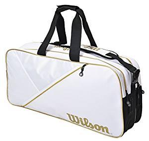 Wilson(ウイルソン) テニス バッグ バドミントンバッグ RECTANGLE BAG IV (レクタングルバッグ) ラケット6本収納可能[un]