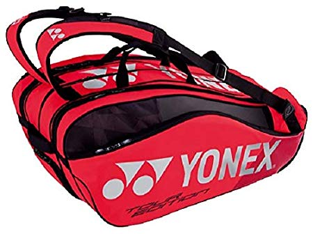 ヨネックス(YONEX) テニス バドミントン ラケットバッグ9 (リュック付) テニスラケット9本用 BAG1802N フレイムレッド[un]