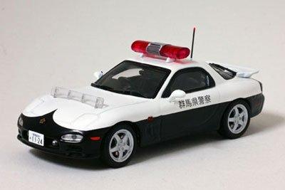 1/43 MAZDA RX-7 Type RS PATROL CAR 1998 群馬県警察高速道路交通警察隊