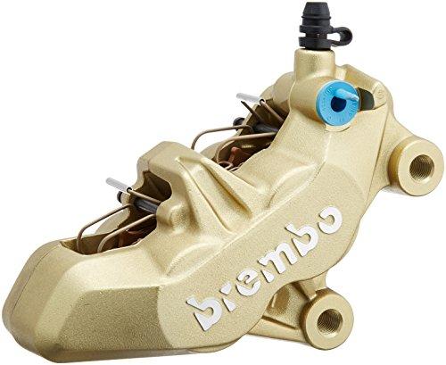 brembo ブレンボ 4ピストンキャリパー 右 ゴールド 4POT 4PADタイプ 鋳造 タイプ キャスティング ●手数料無料!! 20.7850.21 待望