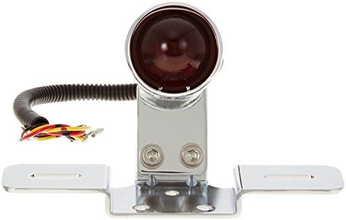 キジマ(kijima) アーリーSテールランプ ガラスレンズ φ35 G18 12V23/8W 汎用 クローム HD-01428