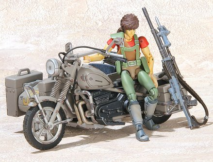 装甲騎兵ボトムズ 機甲猟兵メロウリンク アリティwith軍用バイク[un]