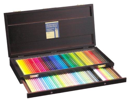 ホルベイン 色鉛筆 100色 セット 木函