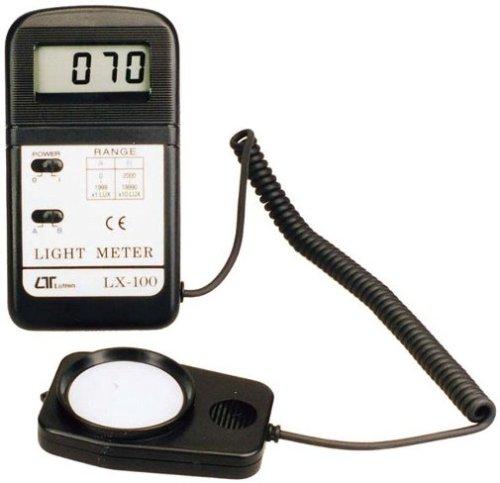 マザーツール デジタル照度計 LX-100 照度計 明るさチェック 波長A/B切り替え機能 写真撮影の露出チェックに