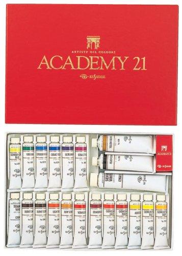 最新最全の クサカベ 油絵具 専門家用 油絵具セット 21色セット アカデミー21 20ml, カーアクセサリーストア【SOVIE】 388c63c2