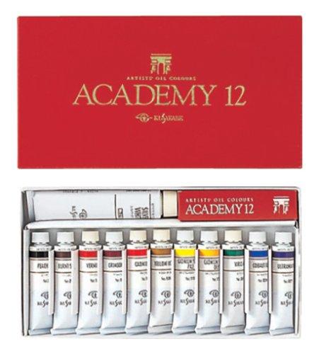 クサカベ 油絵具 専門家用 油絵具セット 12色セット アカデミー12 20ml