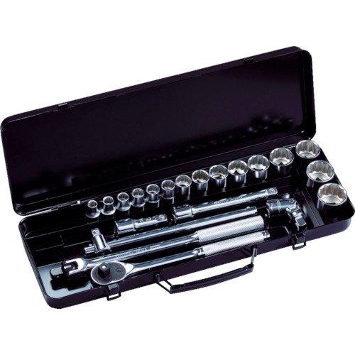 スーパーツール ソケットレンチセット N415S ソケット:15駒×差込角:12.7mm[un]