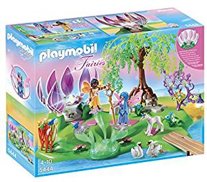 PLAYMOBIL (プレイモービル) Fairy Island with Jewel Fountain Playset(並行輸入品)[un]
