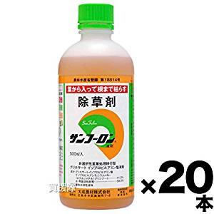 【20本セット】大成農材 除草剤 原液タイプ サンフーロン 500ml[un]