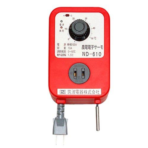 日本ノーデン 農電電子サーモ 100V 10A ND-610[un]
