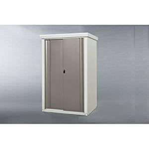 グリーンライフ(GREEN LIFE) 中型収納庫 SRM-0915(TGY) 扉のどの位置にも手がかけられる 扉カラー:チタングレー[un]