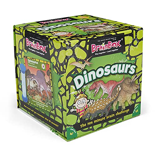 ブレインボックス 英語 カードゲーム 恐竜編 Dinosaurs[un]