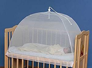 品質検査済 タナカ 日本製 ワンタッチ式 洗えるベビー蚊帳 無地 ベビーベッド un 床畳用 白 商品追加値下げ在庫復活