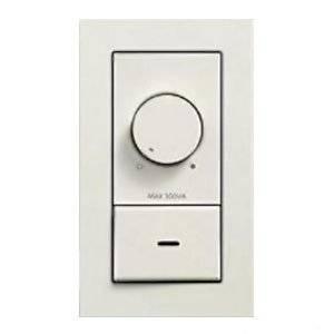 DAIKO LED専用調光器 300VA用 壁面取付専用 埋込式 ホワイト DP-39672[un]