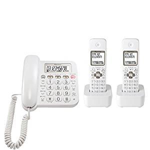 パイオニア Pioneer TF-SA15W デジタルコードレス電話機 子機2台付き/迷惑電話対策 ホワイト TF-SA15W-W 【国内正規品】[un]