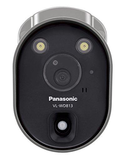 パナソニック(Panasonic) センサーライト付屋外ワイヤレスカメラ 電源コード式 VL-WD813K[un]